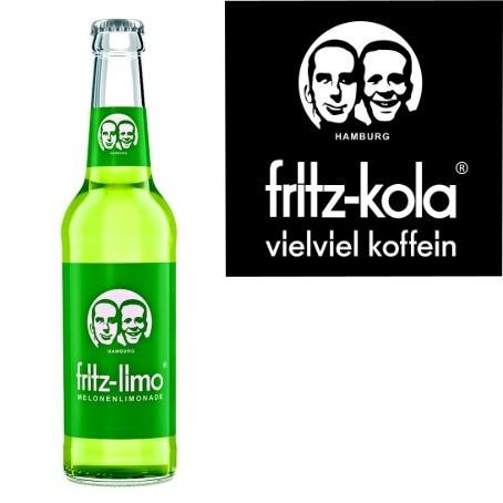 fritz -limo Melonenlimonade (24/0,33 Ltr. Glas)