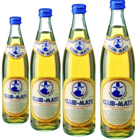 Club Mate Eistee (20/0,5 Ltr. Glas)