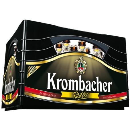 Krombacher Radler alkoholfrei (24/0,33 Ltr. Glas)