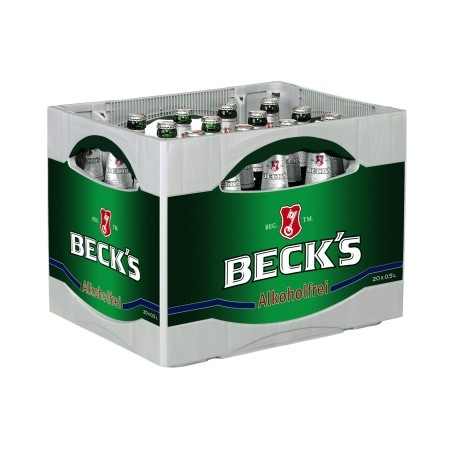 Becks Bier Blue alkoholfrei (20/0,5 Ltr. Glas)