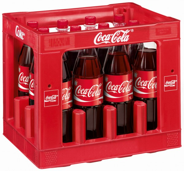 Coca Cola (12/1,0 Ltr. PET)