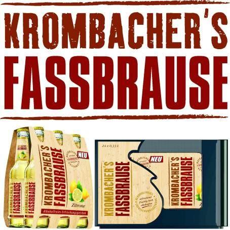 Krombacher Fassbrause Zitrone (24/0,33 Ltr. Glas)