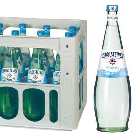 Gerolsteiner Naturell Gourmet (12/0,75 Ltr. Glas)