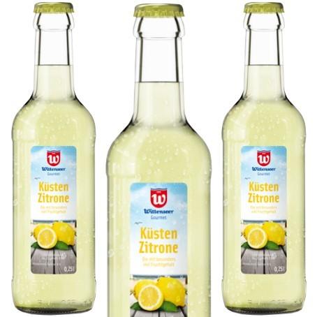 Wittenseer Küsten-Brause Zitrone (20/0,25 Ltr. Glas)