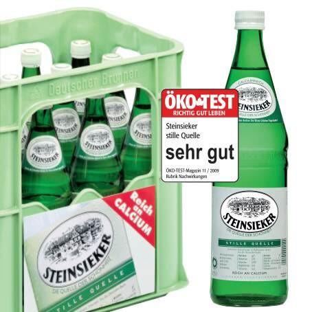 Steinsieker still (12/0,75 Ltr. Glas)
