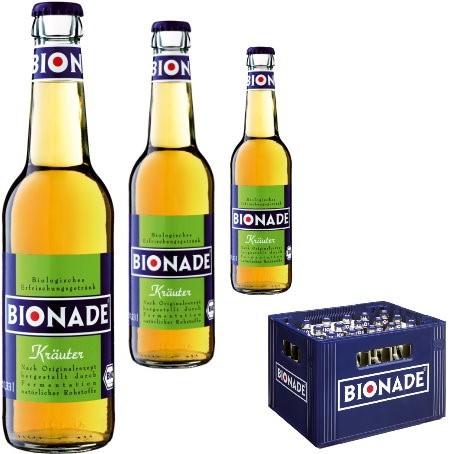 Bionade Kräuter (24/0,33 Ltr. Glas)