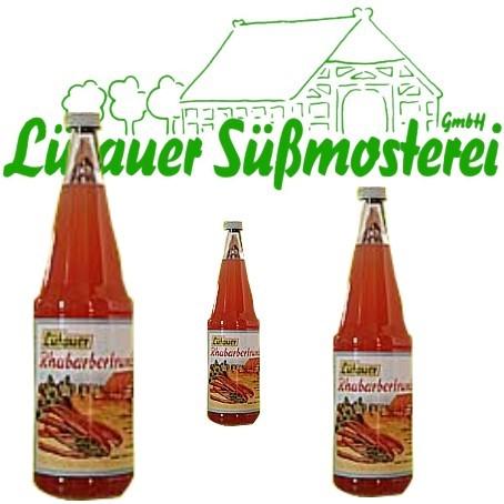 Lütauer Rhabarbertrunk (6/0,7 Ltr. Glas)