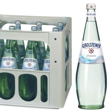 Gerolsteiner Sprudel Gourmet (12/0,75 Ltr. Glas)