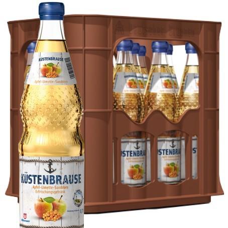 Wittenseer Limo Küstenbrause (12/0,7 Ltr. Glas)