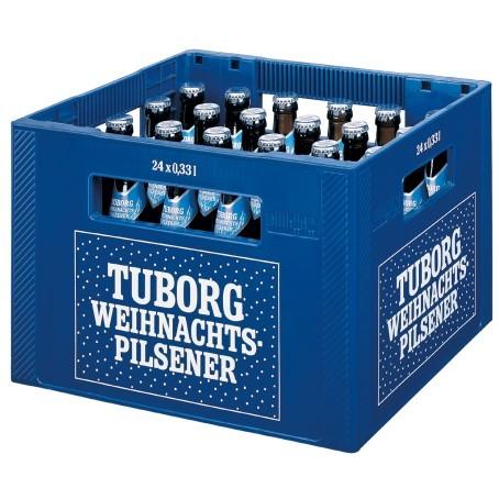 Tuborg Weihnachtsbier (20/0,5 Ltr. Glas)