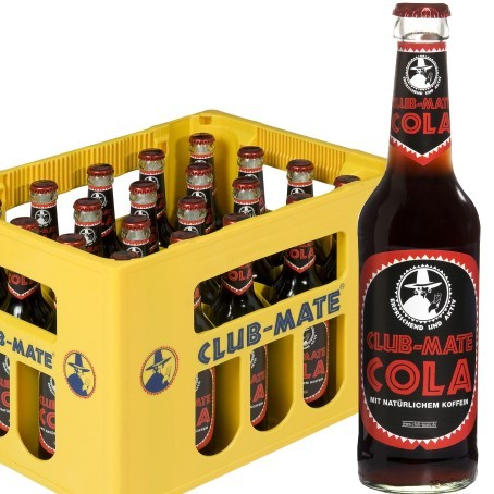 Club Mate Cola (24/0,33 Ltr. Glas)