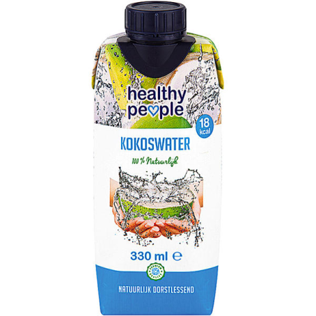 Healthy People Coconut Water (12/0,33 Ltr. Tetra)