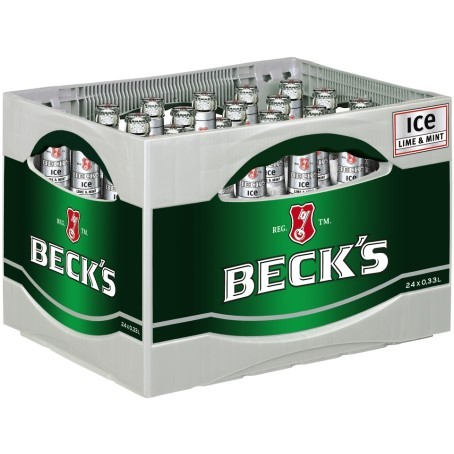 Becks Bier ICE (24/0,33 Ltr. Glas)