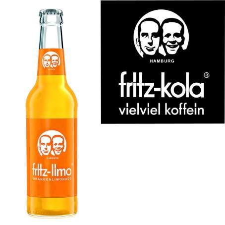 fritz -limo Orangenlimonade (24/0,33 Ltr. Glas)