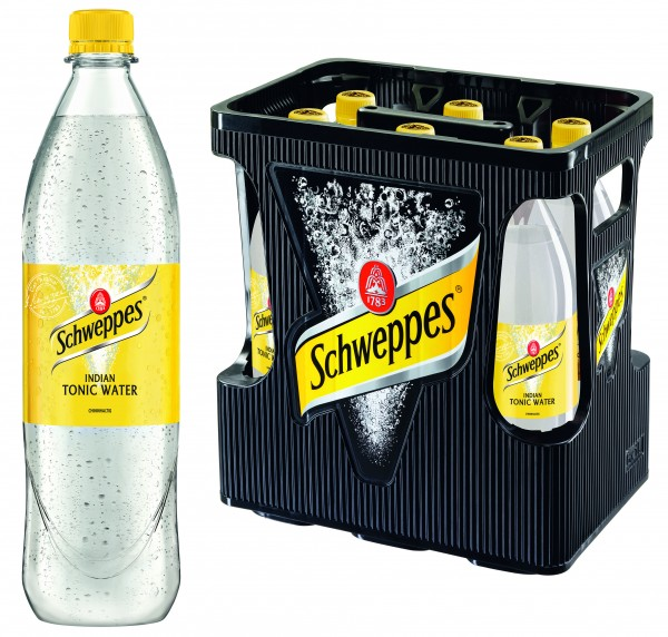 Schweppes Indian Tonic (6/1 Ltr. PET)