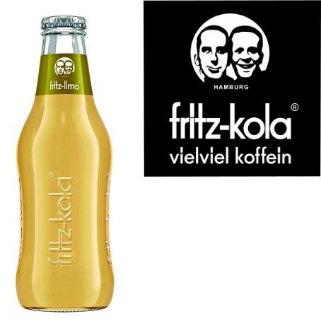 fritz -spritz Apfelsaftschorle (24/0,2 Ltr. Glas MEHRWEG)