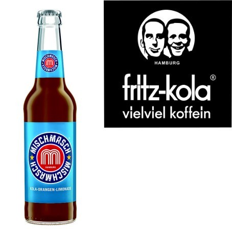 fritz -mischmasch Kola-Orangenlimonade (24/0,33 Ltr. Glas MEHRWEG)