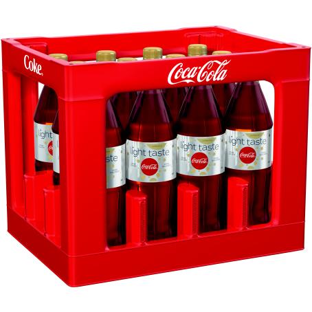 Coca Cola light coffeinfrei (12/1,0 Ltr. PET MEHRWEG)