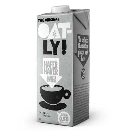 OATLY Barista Haferdrink Calcium (6 x 1,00 Liter)