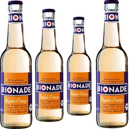 Bionade Ingwer Orange (24/0,33 Ltr. Glas MEHRWEG)
