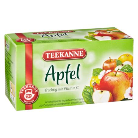Teekanne Tee Apfel fruchtig