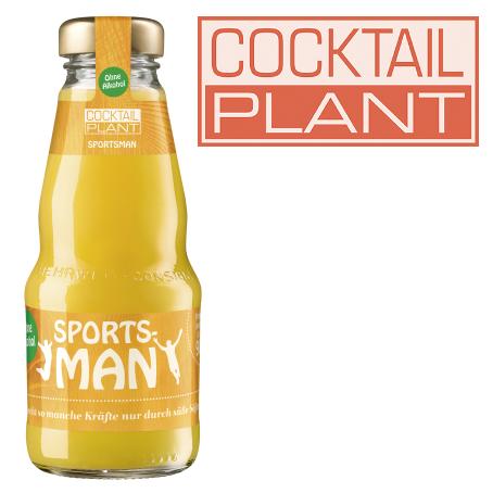 Cocktail Plant Sportsman af (24/0,2 Ltr. MEHRWEG)