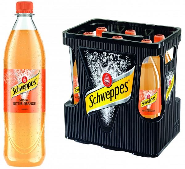 Schweppes Bitter Orange (6/1 Ltr. PET MEHRWEG)