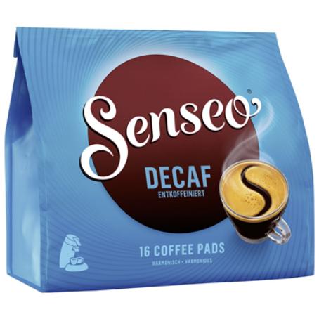 Senseo Coffee Pads entkoffeiniert (16 Pads Beutel)
