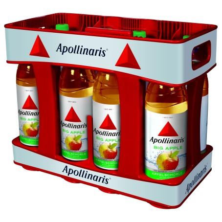 Apollinaris big apple (10/1 Ltr. PET MEHRWEG)