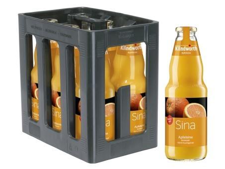 Klindworth Apfelsine direkt (6/1 Ltr. Glas MEHRWEG)