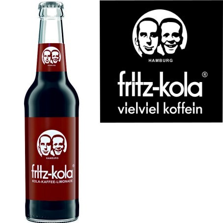 fritz -kola Kola-Kaffee-Limonade (24/0,33 Ltr. Glas MEHRWEG)