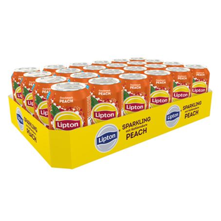 Lipton Ice Tea Sparkling Peach (24/0,33 Ltr. Dosen)
