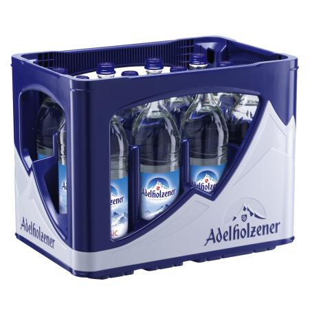Adelholzener Classic (12/0,75 Ltr. Glas MEHRWEG)