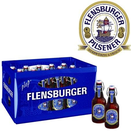 Flensburger Pils Dunkel (20/0,33 Ltr. Glas MEHRWEG)