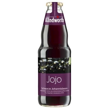 Klindworth Johannesbeere schwarz (Einzelflasche 1,0 Ltr. MEHRWEG)