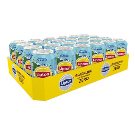 Lipton Ice Tea Sparkling Zero (24/0,33 Ltr. Dosen)