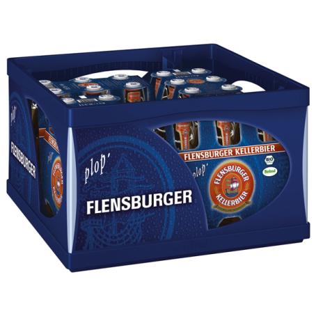 Flensburger Pils Kellerbier (20/0,33 Ltr. Glas MEHRWEG)