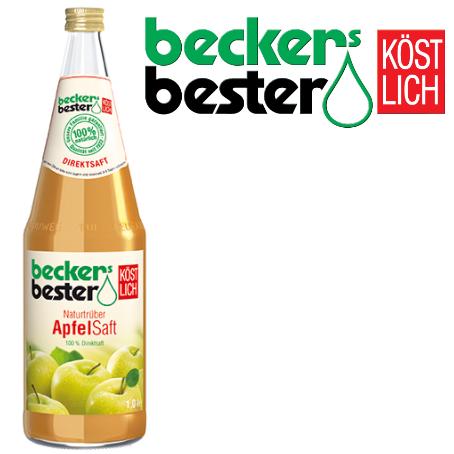 Beckers Bester Apfelsaft trüb
