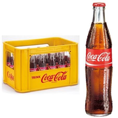 Coca Cola (24/0,33 Ltr. Glas MEHRWEG)