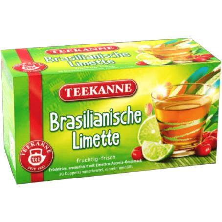 Teekanne Brasilianische Limette Früchtetee