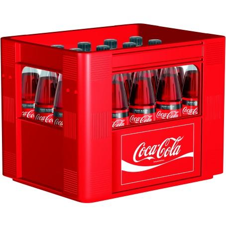 Coca Cola Zero (20/0,5 Ltr. Glas MEHRWEG)