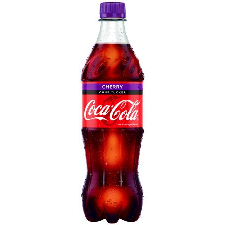 Coca Cola Cherry Zero PET (12/0,5 Ltr. Einweg)
