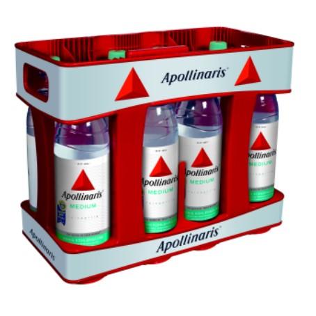 Apollinaris medium (10/1 Ltr. PET MEHRWEG)