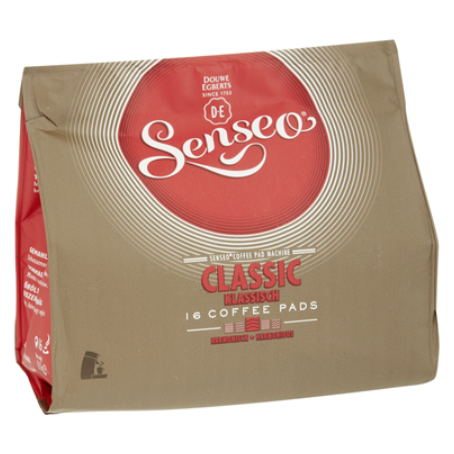 Senseo Coffee Pads Classic (16 Pads Beutel)