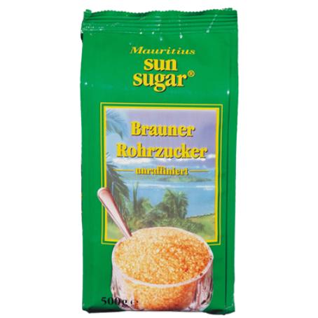 Mauritius brauner Rohrzucker (1/500 g)