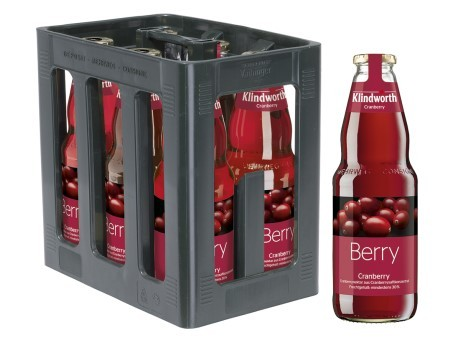 Klindworth Cranberrynektar (6/1 Ltr. Glas MEHRWEG)