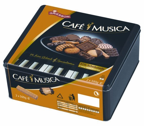 Griesson Cafe Musica (1/1000 g.)
