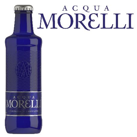 Acqua Morelli Frizzante (24/0,25 Ltr. Glas MEHRWEG)
