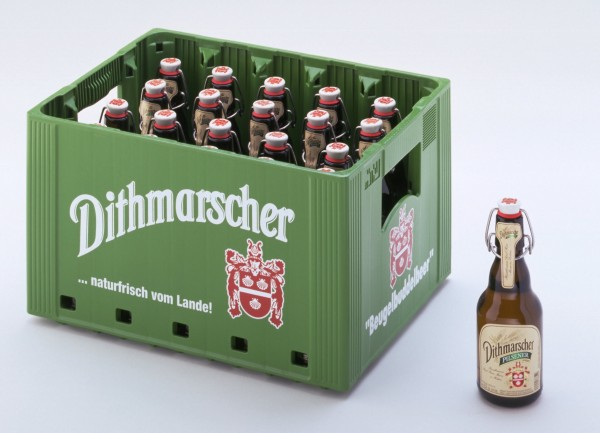 Dithmarscher Bügel Pils (20/0,33 Ltr. Glas MEHRWEG)