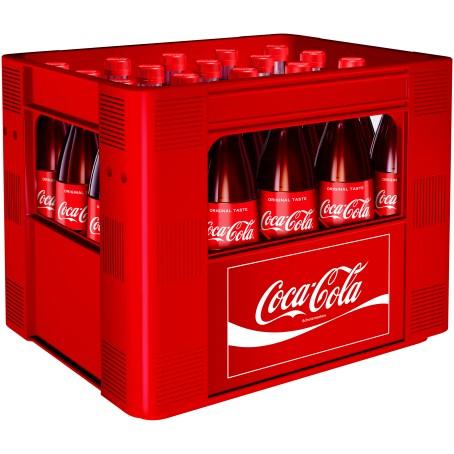 Coca Cola (20/0,5 Ltr. Glas MEHRWEG)